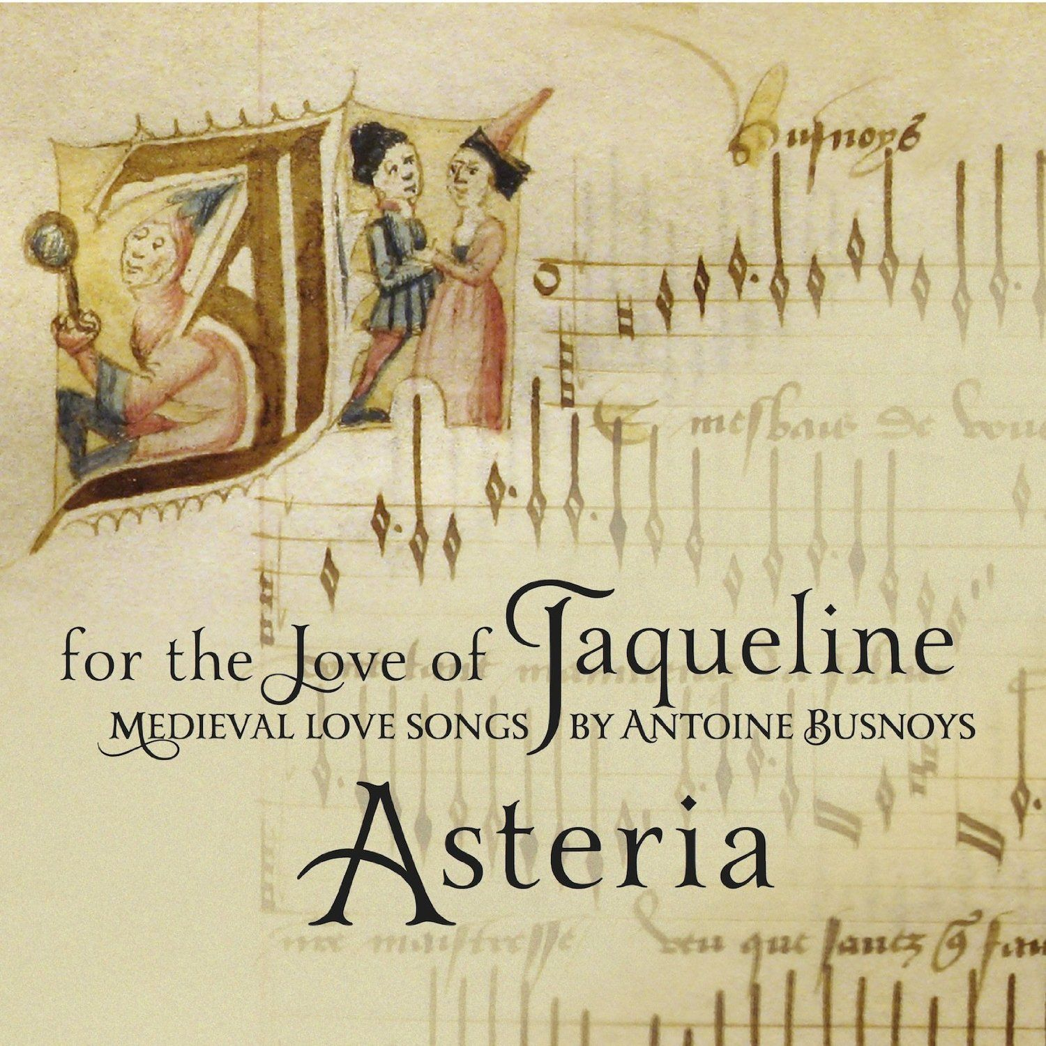 Asteria - FOR THE LOVE OF JAQUELINE